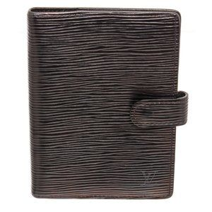 Louis Vuitton Black Leather Small Holder Cover